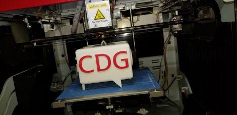 CDG Logo from Definitive Design